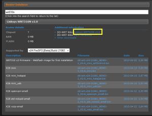 dd-wrt Router Database - wrt310n v2 - Details