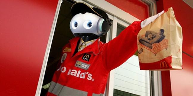 McDonald's Robot