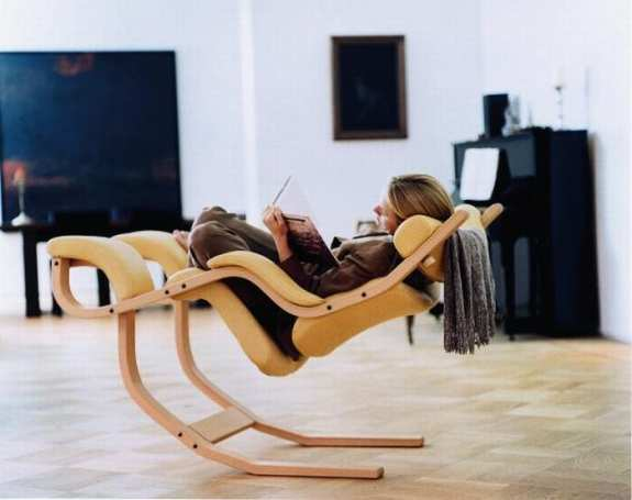 Insanely expensive reclining chair